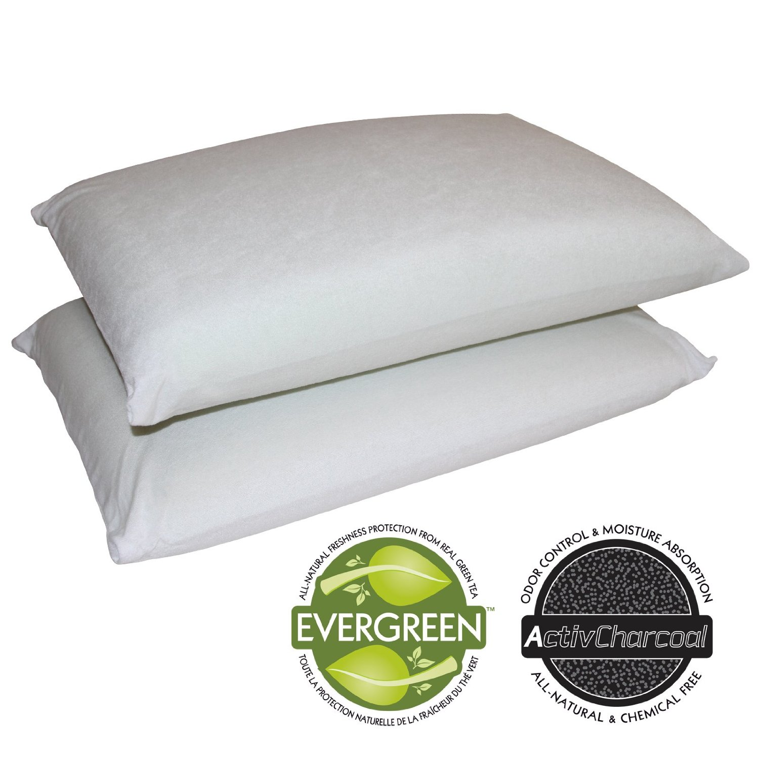 Sleep Master 2-Pack Traditional Memory Foam Pillows review