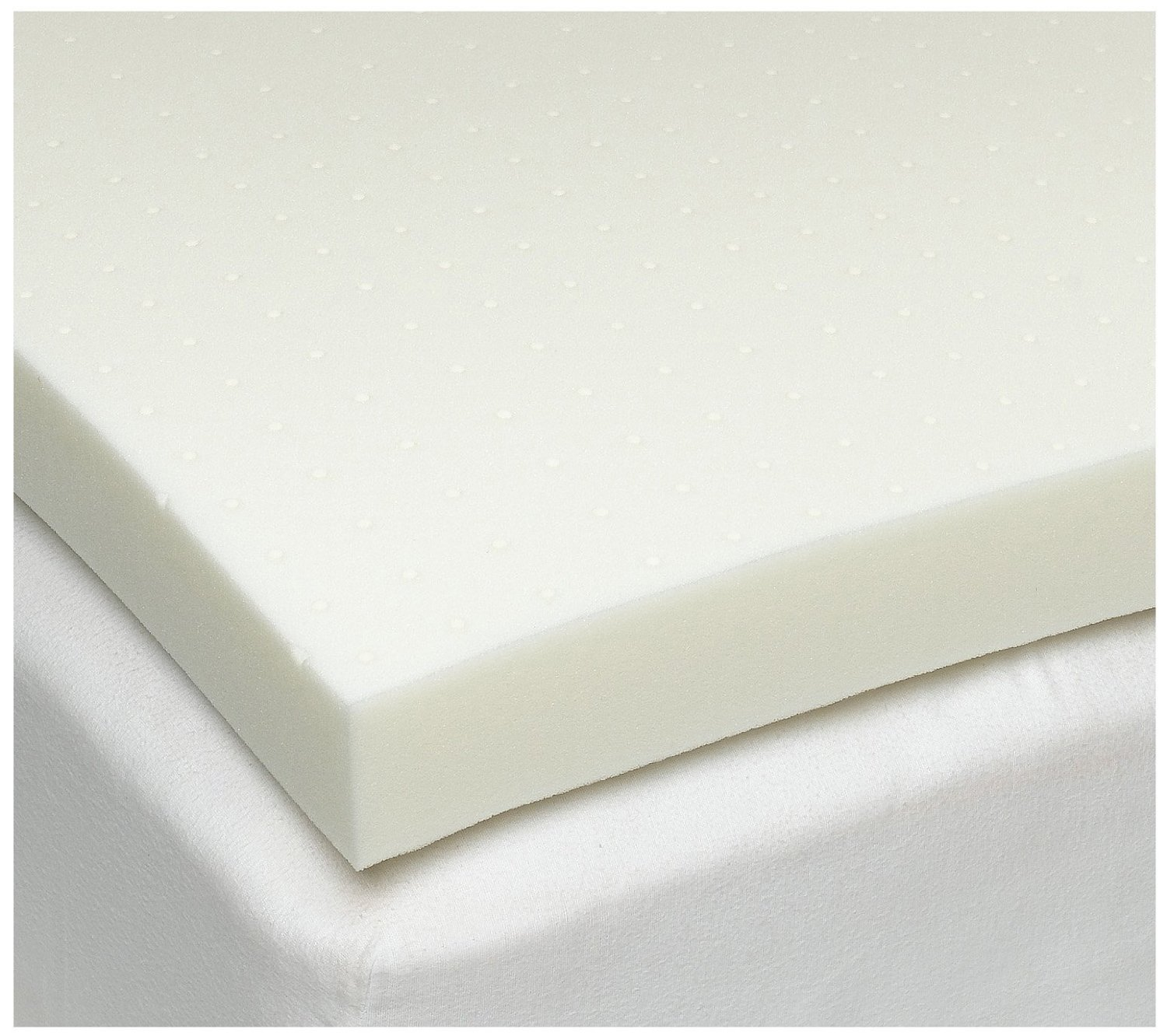 The sleep joy 4 inch ventilated memory foam mattress topper review 4 memory foam mattress topper