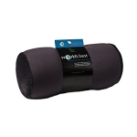 Worlds Best Air Soft Microbeads Tube Pillow, Charcoal