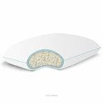 LINENSPA Shredded Memory Foam Pillow with Gel Memory Foam - Standard