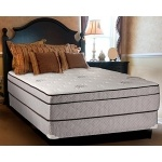 "Continental Sleep Fifth Ave Collection, Fully Assembled  Mattress Set With 13"" Soft Euro Top Orthopedic Queen Mattress and 8"" Box Spring"