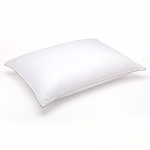 "Clearance Sale – Soft White Goose Down Hypoallergenic Pillow – Luxury Home Catalog Collection – Perfect for Stomach Sleepers (Standard 20"" x 26"")"