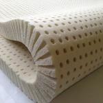 """Pure Green 100% Natural Latex Mattress Topper - Firm - 2"""" Queen Size"""