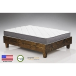 Dreamfoam Bedding Spring Dreams Queen 9-Inch Two-Sided Pocket Coil Mattress