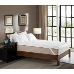 Cheer Collection Extra Plush Luxurious Down Alternative Mattress Topper - King