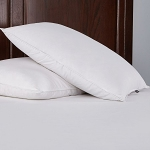 Puredown Down Fiber Pillow, 233 Thread Count Cotton Fabric, Set of 2, Standard/Queen Size