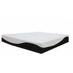 "Spinal Solution 8"" Gel Memory Foam Orthopedic Mattress, Queen"