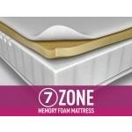 Silentnight 7-Zone Memory Foam Mattress Double