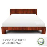 Lucid 10 Memory Foam Mattress by Linenspa
