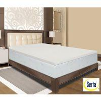 Visco Elastic Memory Foam Mattress Pad Bed Topper