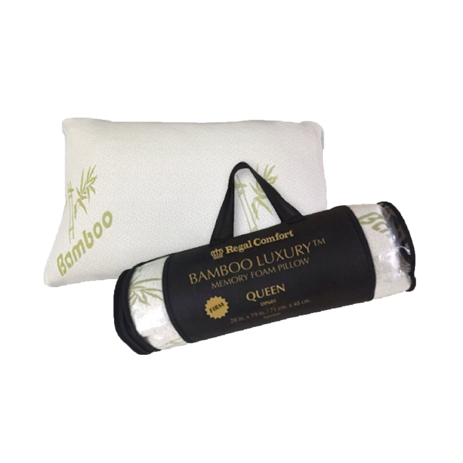 Regal Comfort Bamboo Memory Foam Bed Pillow Review.