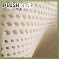 PlushBeds Natural Talalay Latex Topper