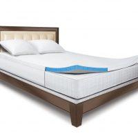 Sleep Innovations 2-Inch Gel Memory Foam Mattress Topper
